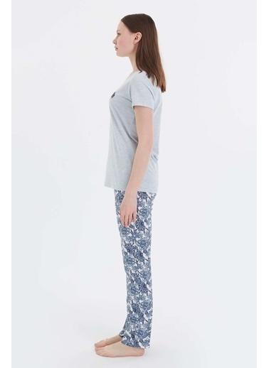 U.S. Polo Assn. Pijama Takım Mavi